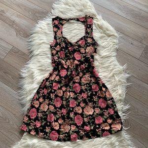 9a866c6b465 Melrose Dresses | Maxi Dress Size 16 Navy Floral | Poshmark